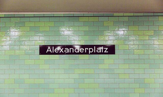 Berlin-Mitte-Alexanderplatz